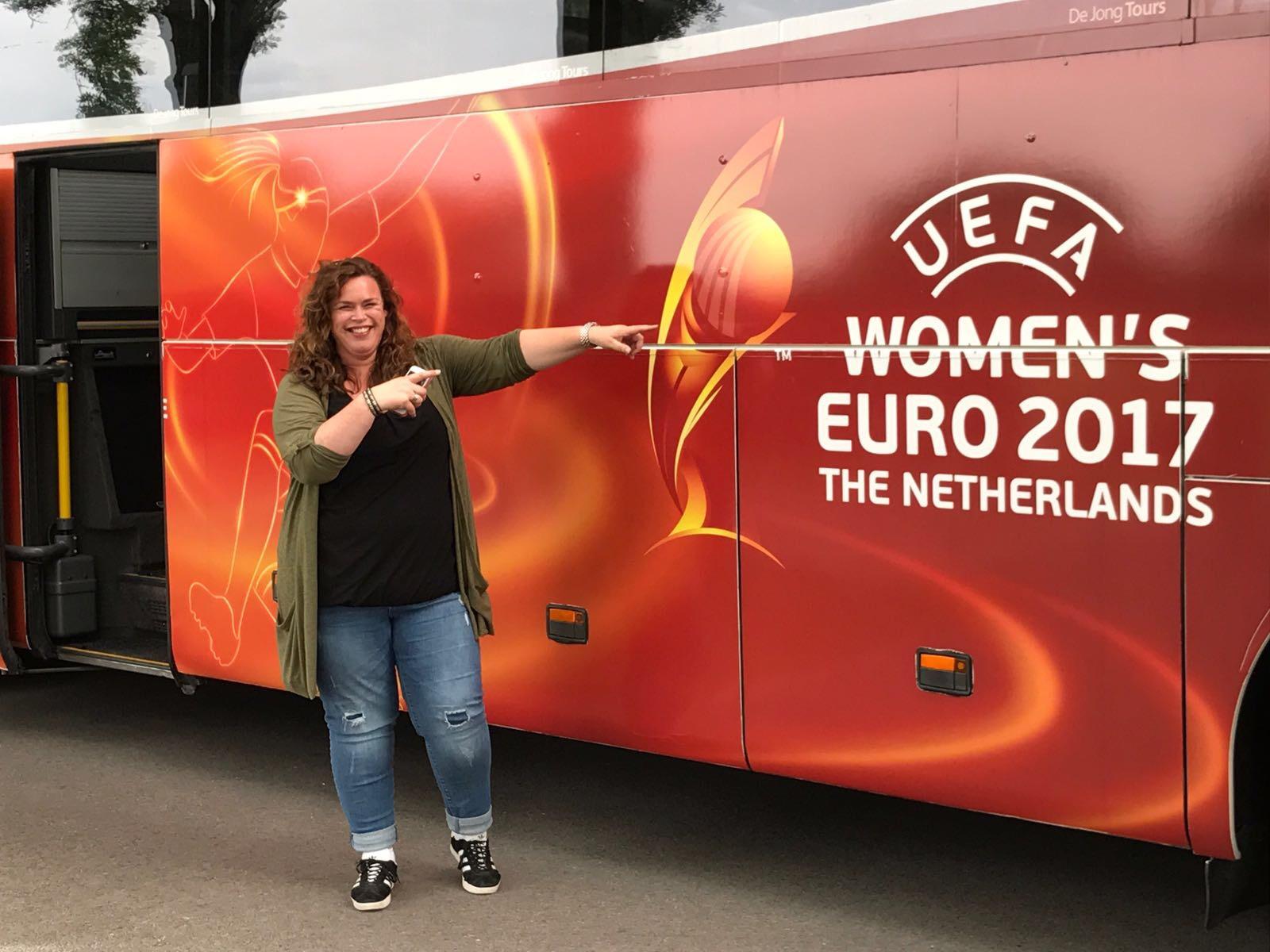 Milati bij EK vrouwenvoetbal